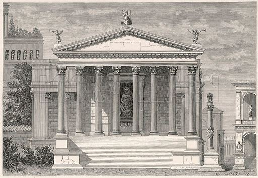 Temple of Jupiter Stator (8th century BC) Temple of Jupiter Stator discovered in Rome The Archaeology News