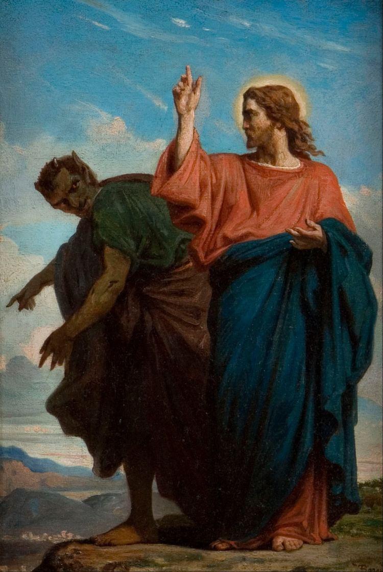 Temptation of Christ FileFlix Joseph Barrias The Temptation of Christ by the Devil
