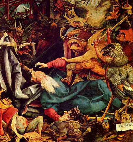 Temptation of Saint Anthony in visual arts The Many Temptations of St Anthony Magnetic State