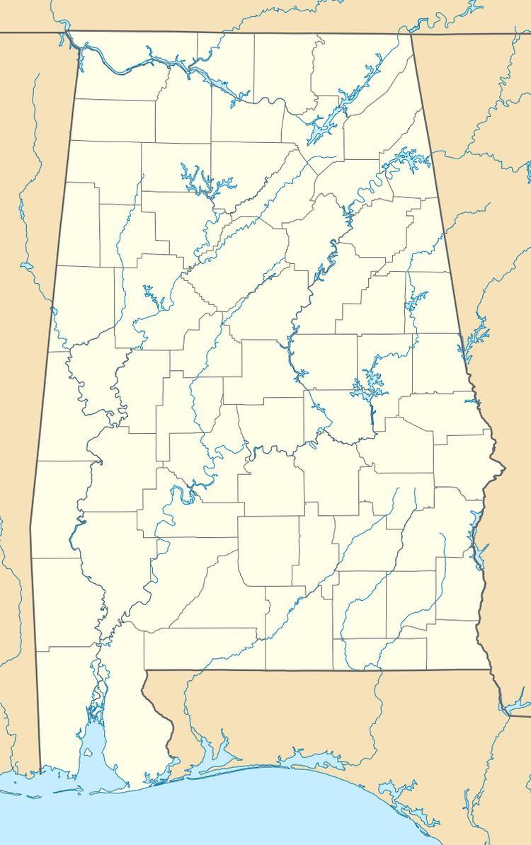 Ten Broeck, Alabama