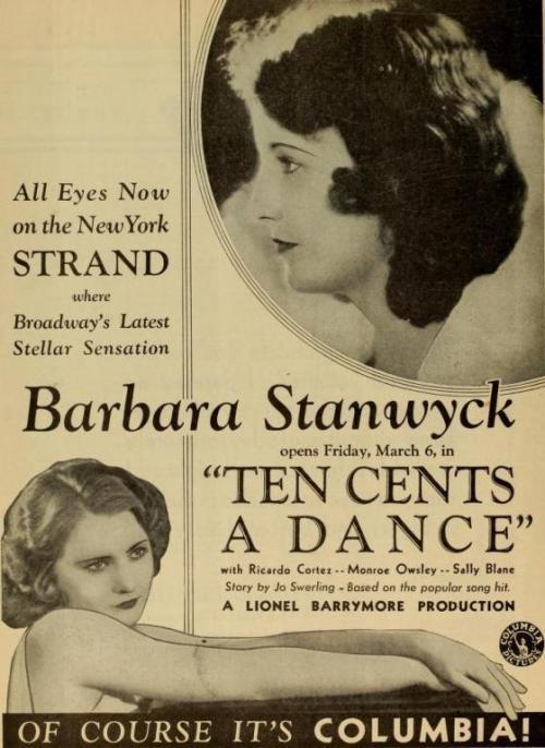 Ten Cents a Dance 1931