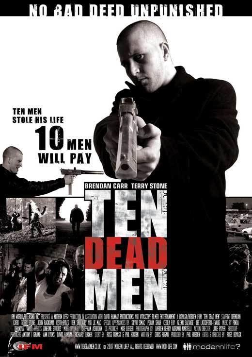 Ten Dead Men Ten Dead Men Movie Posters From Movie Poster Shop