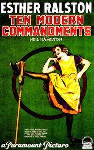 Ten Modern Commandments movie poster