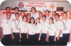 Ten Outstanding Red Cross Youth