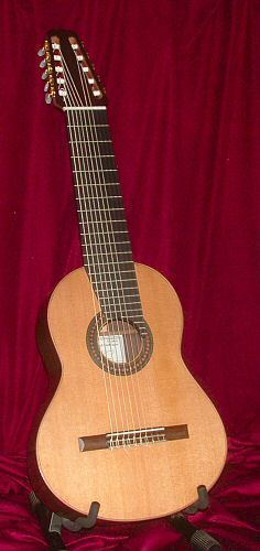 Ten-string classical guitar of Yepes