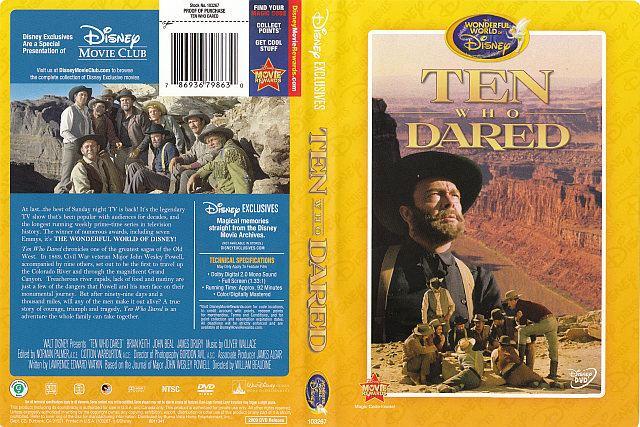 Ten Who Dared Ten Who Dared 786936798630 Disney DVD Database