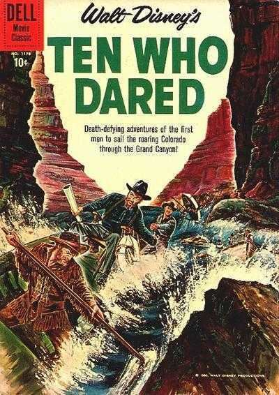 Ten Who Dared Four Color 1178 Walt Disneys Ten Who Dared Issue