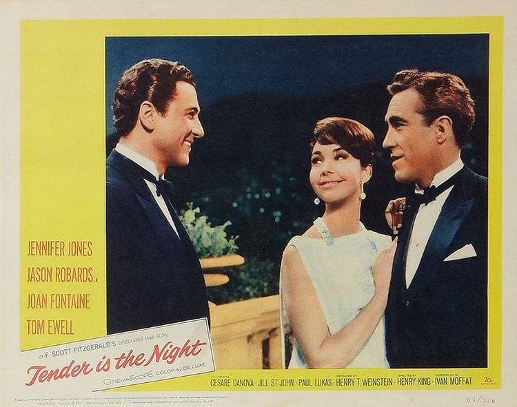 Tender Is the Night (film) Tender is the Night 1962