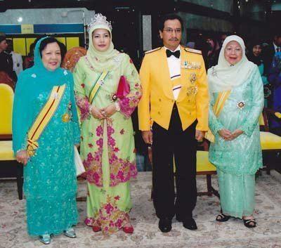 Tengku Intan Zaharah WARISAN PERMAISURI MELAYU YMM Tengku Ampuan Tua Tuanku