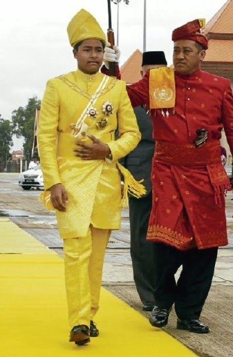 Tengku Muhammad Ismail The Monarchies About HRH Yang DiPertuan Muda of Terengganu
