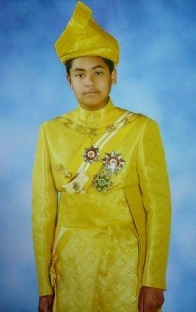 Tengku Muhammad Ismail Duli Mahkota Pewaris Takhta Terengganu Darul Iman