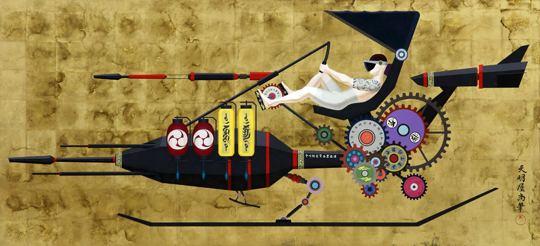 Tenmyouya Hisashi The Curious Imaginary Contraptions of Hisashi Tenmyouya and