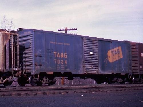 Tennessee, Alabama and Georgia Railway hawkinsrailsnetshortlinestagtag7034jpg