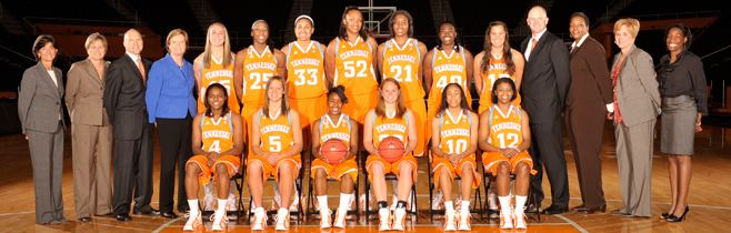 Tennessee Lady Volunteers basketball 201011 Lady Vol Basketball Roster University of Tennessee