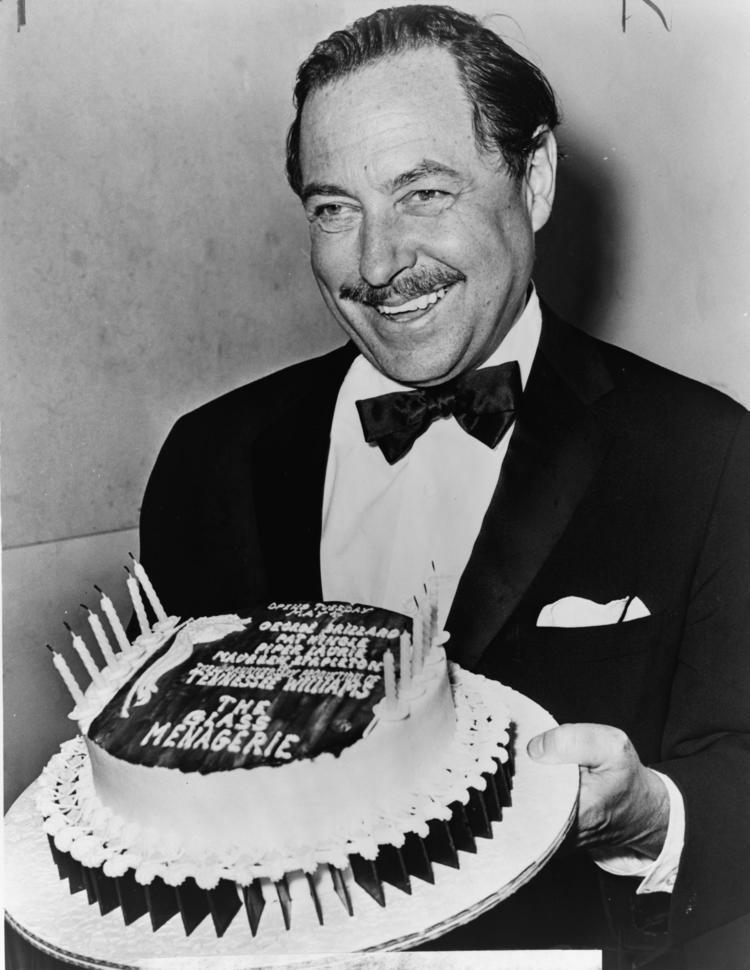 Tennessee Williams FileTennessee Williams with cake NYWTSjpg Wikimedia
