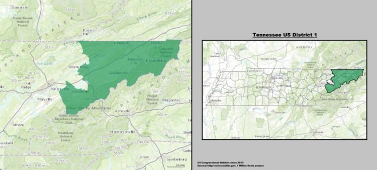 Tennessee's 1st congressional district