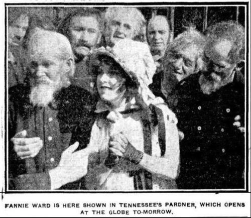 A 1916 Film Diary Tennessees Pardner Brooksies Silent Film