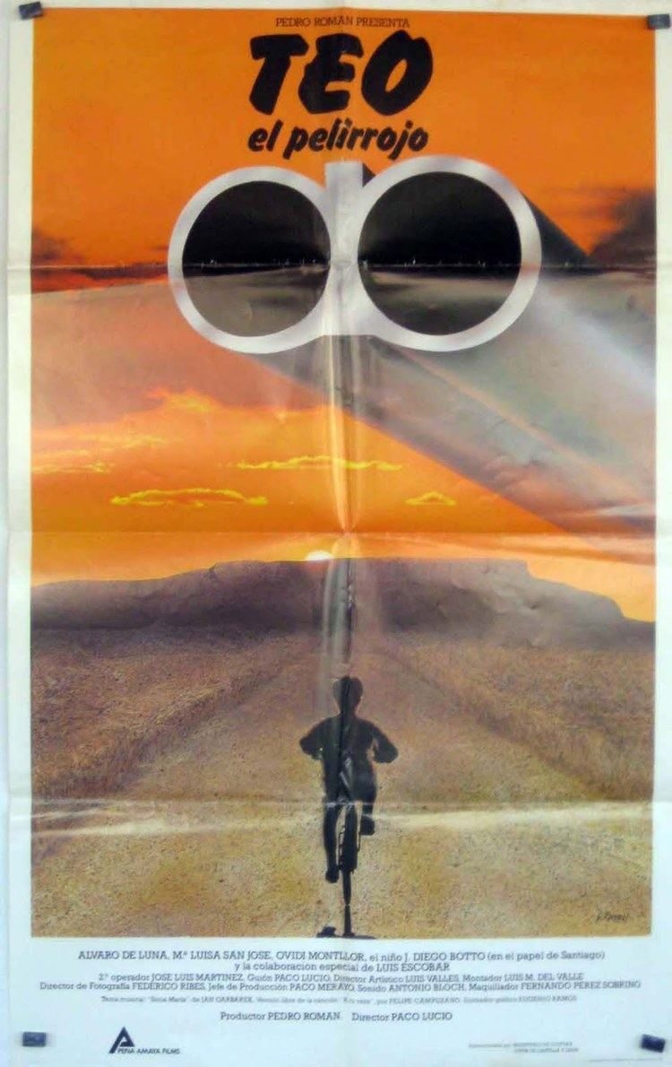 Teo el pelirrojo Enciclopedia del Cine Espaol Teo el pelirrojo 1986