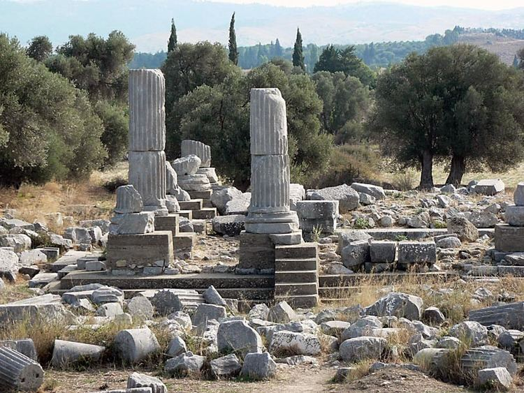 Teos Temple of Dyonisos on Teos a photo from Izmir Aegean TrekEarth