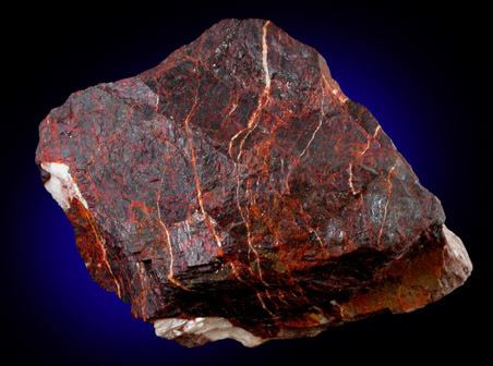 Tephroite No 28361 Zincite and Tephroite from Franklin Mining District