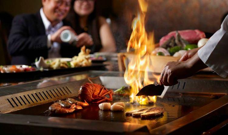 Teppanyaki teppanyaki in Singapore Teppanyaki restaurants with live chefs