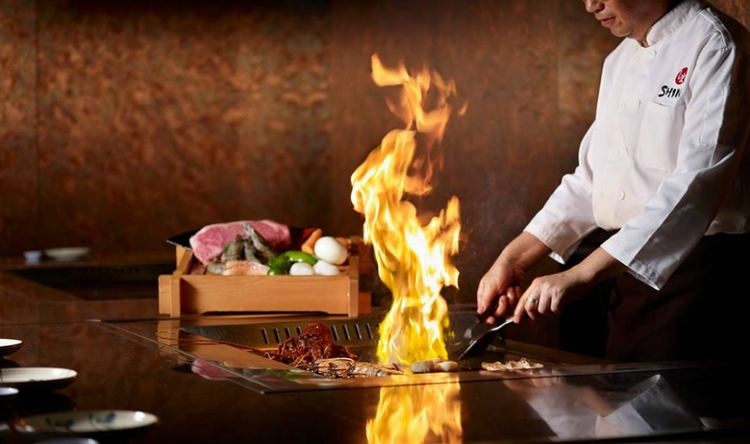 Teppanyaki Best teppanyaki in Singapore Teppanyaki restaurants with live chefs