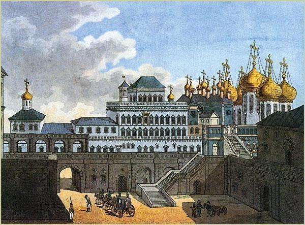 Terem Palace Terem Palace Moscow 17th century construction