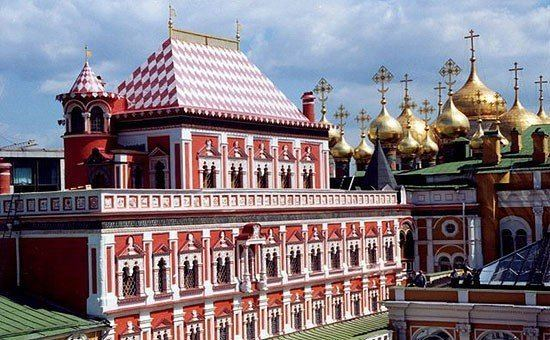 Terem Palace Palace in the Kremlin Terem Palace in Moscow photos Best