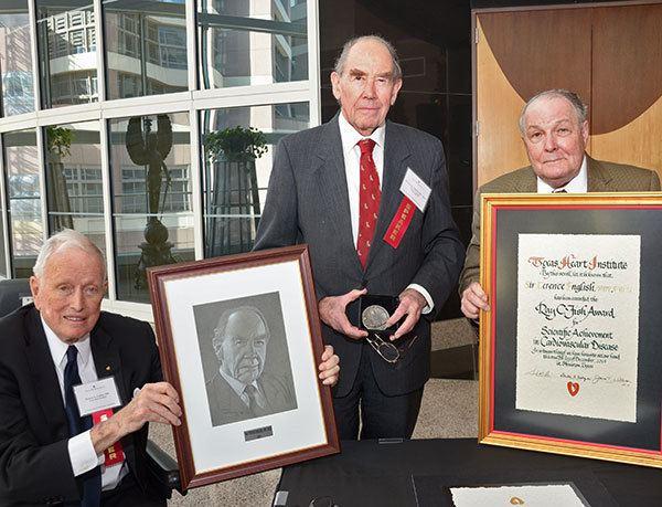 Terence English British Cardiac Pioneer Sir Terence English Receives Texas Heart