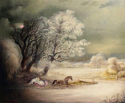 Terence Romaine von Duren Sleigh Ride by Terence Romaine von Duren on artnet