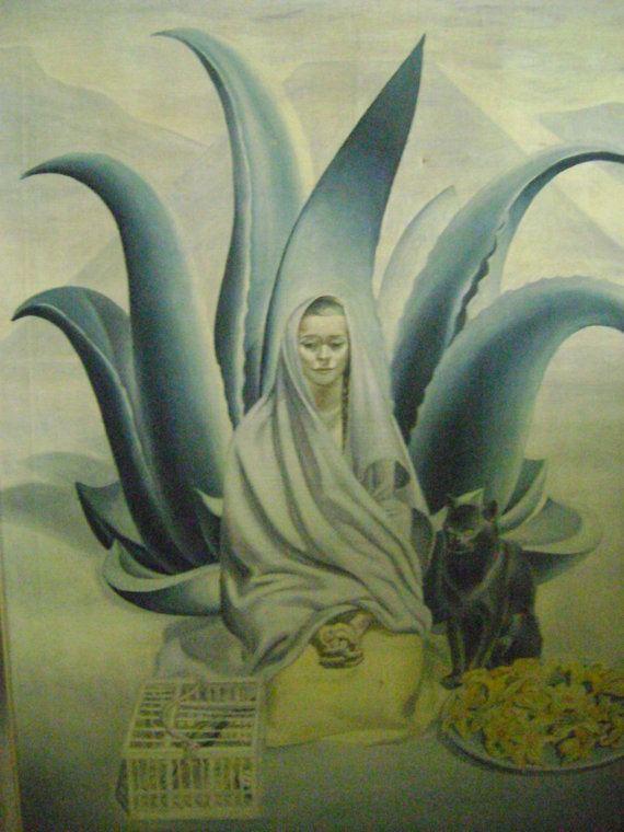 Terence Romaine von Duren Original Painting by Terence Romaine von Duren Virgin Mary