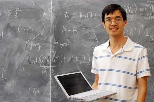 Terence Tao UCLA mathematician Terence Taos site has audience of 40000 Daily