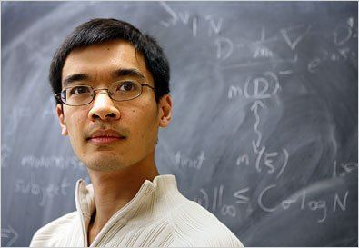 Terence Tao Scientist at Work Terence Tao Journeys to the Distant