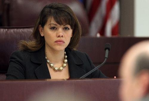 Teresa Benitez-Thompson Former beauty queen eyes education funding Las Vegas ReviewJournal