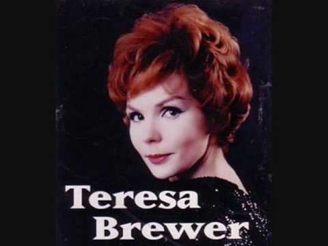 Teresa Brewer Teresa Brewer Mockin Bird Hill 1961 YouTube