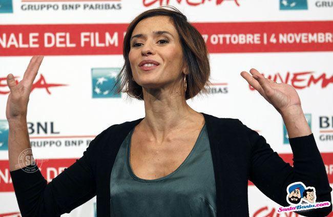 Teresa Saponangelo Actress Teresa Saponangelo poses during a photocall for
