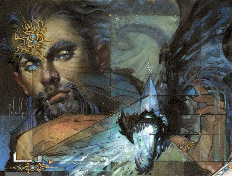 Terese Nielsen MtG Art Control Magic from Eternal Masters Set by Terese Nielsen