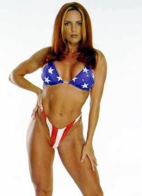 Teri Byrne WCW Nitro Girl Teri Byrne aka Fyre Female Fitness Pinterest