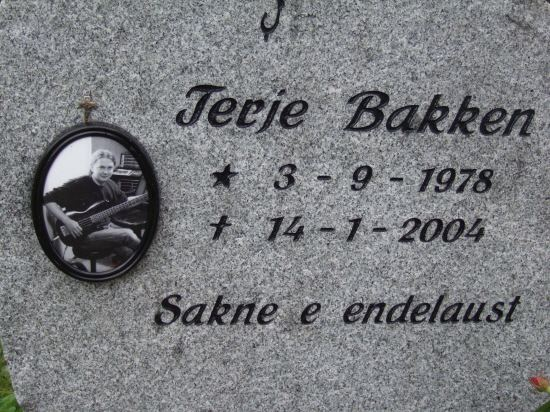 Terje Bakken Terje quotValfarquot Bakken 1978 2004 Find A Grave Photos