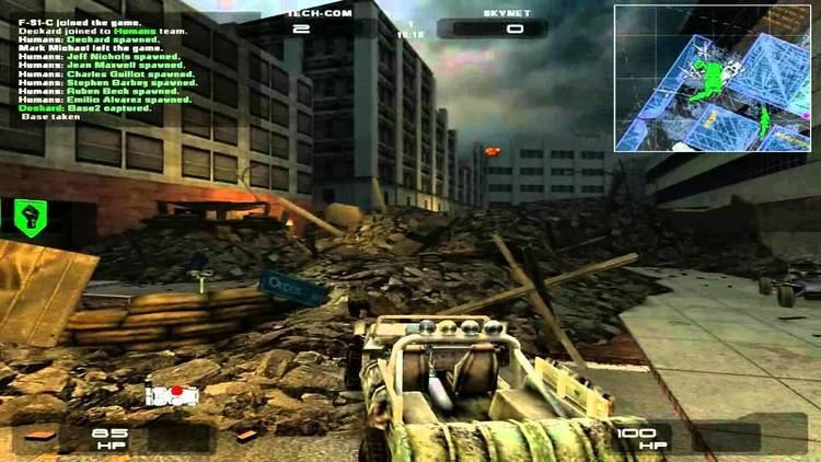 Terminator 3: Rise of the Machines (video game) Games that Suck Terminator 3 RiseWar of the Machines YouTube