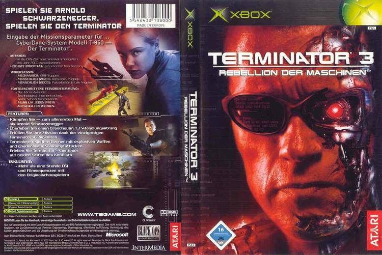 Terminator 3: Rise of the Machines (video game) wwwtheisozonecomimagescoverxbox882jpg