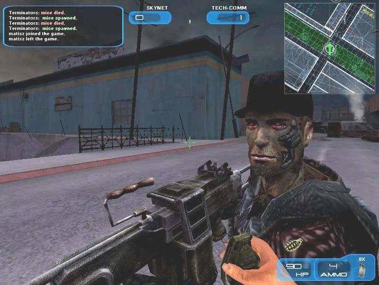 Terminator 3: War of the Machines Demos PC Terminator 3 War of the Machines Demo MegaGames