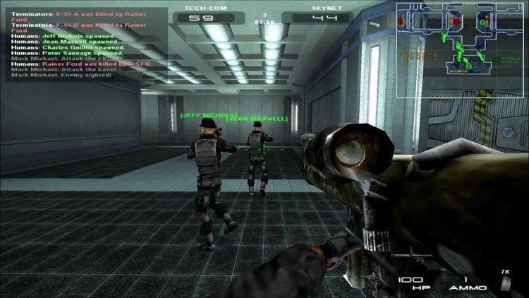 Terminator 3: War of the Machines Terminator 3 War of the Machines Gameplay YouTube