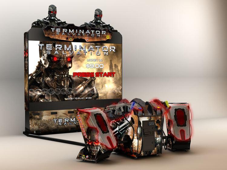 Terminator Salvation (arcade game) Arcade Heroes Raw Thrills39 releases Terminator Salvation Super