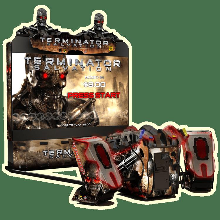 Terminator Salvation (arcade game) Terminator Salvation Raw Thrills Inc