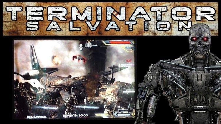 Terminator Salvation (video game) TERMINATOR SALVATION Arcade Video Game YouTube