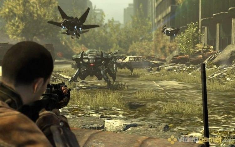 Terminator Salvation (video game) Terminator Salvation The Videogame Screenshots VideoGamercom