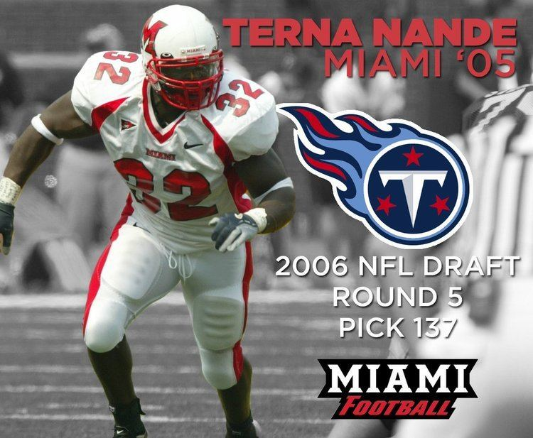 Terna Nande Miami Football on Twitter DT Larry BurtLB Terna NandeWRs Ryne
