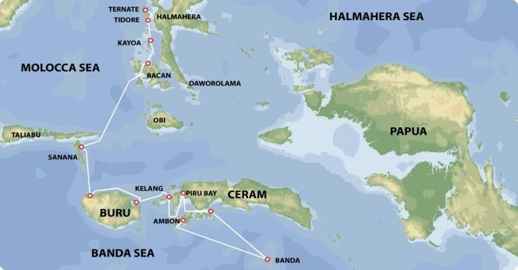 Ternate in the past, History of Ternate