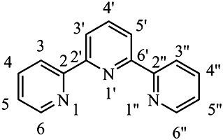 Terpyridine Structure and atom numbering of 2262terpyridine Figure 1 of 53